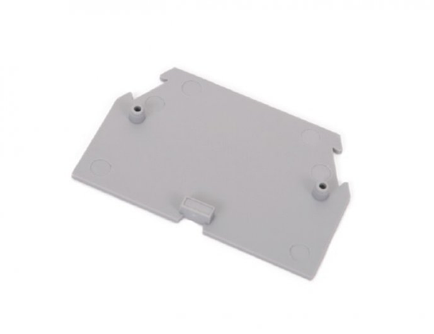 Торцевая заглушка RSA 6/10 A серая (B641211), фото 2