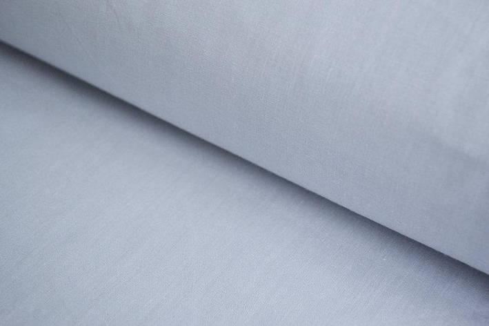 Польская хлопковая ткань серая 160 см, фото 2