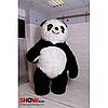 Надувной Костюм ( Пневмокостюм, Пневморобот ) Панда с длинным мехом