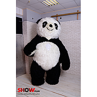 Надувной Костюм ( Пневмокостюм, Пневморобот ) Панда с длинным мехом, фото 1