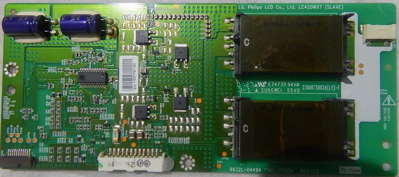 Инвертор 6632L-0449A для телевизора Techwood LCD 428