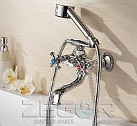 Змішувач для ванни з широким виливом Zegor DAK3-A, фото 1