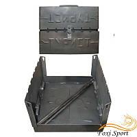 Разборной мангал - чемодан на 6 шампуров