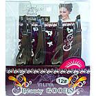 Скошенные Пинцеты Косметические для Бровей Металлические с Крылышками №1618, Упаковкой 12 шт., фото 7