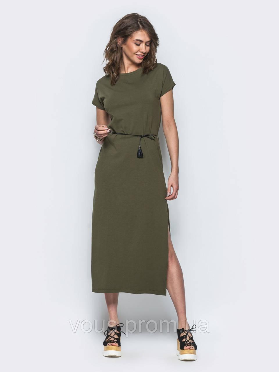 d520e91f616 Стильное повседневное платье - Интернет-магазин «Vous» в Закарпатской  области
