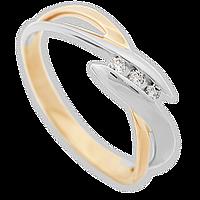 Золотое кольцо с бриллиантами Кристин 17.5 000011056