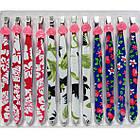 Пинцеты Металлические Цветные Ровные Упаковкой 12 шт. , фото 6