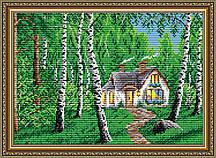 AT3015. Домик в лесу