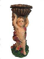 Статуэтка с кашпо Ангел с чашей 52 см