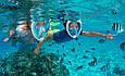Маска для Подводного Плавания Дайвинга Снорклинга Free Breath, фото 9