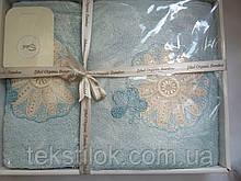Набор полотенец   50*90 70*140 см бамбук 2 шт Sikel