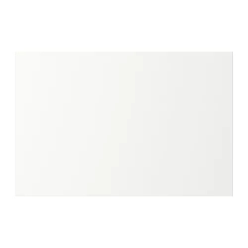 Дверца с петлями IKEA FONNES 60x40 см белая 892.134.75