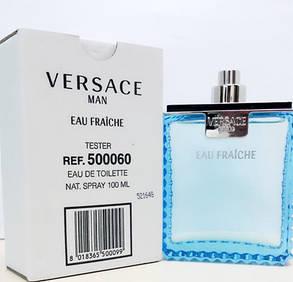 Духи, туалетная вода Versace Man Eau Fraiche 100 ml TESTER , фото 2