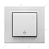 Выключатель проходной Gunsan Moderna 2911107 белый