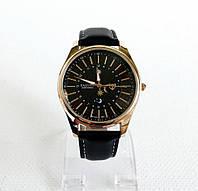 Мужские наручные часы Yazole-368 черный ремешок.