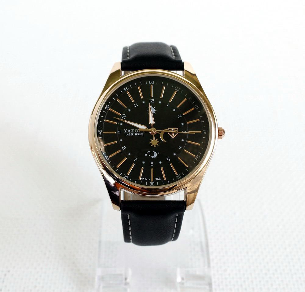 Мужские наручные часы Yazole-368 черный ремешок. - Valakum в Херсонской  области 056d5460be3