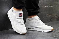 Кроссовки Nike Air Max 1 Ultra Moire белые Reflective рефлективные Индонезия