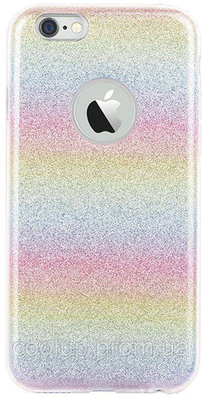 Чехол-накладка TOTO TPU Shine Case iPhone 6/6s Rainbow