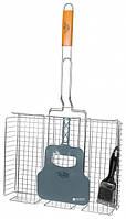 Решетка-гриль Krauff с веялом и щеткой KRF29-274-007 (41*31*6,5)
