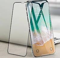 Защитное стекло Time 5D для APPLE iPhone X Black (TIME7100387)