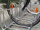 Велопарковка на 5 велосипедів Rad-5 Польща, фото 2