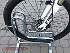 Велопарковка на 5 велосипедів Rad-5 Польща, фото 3