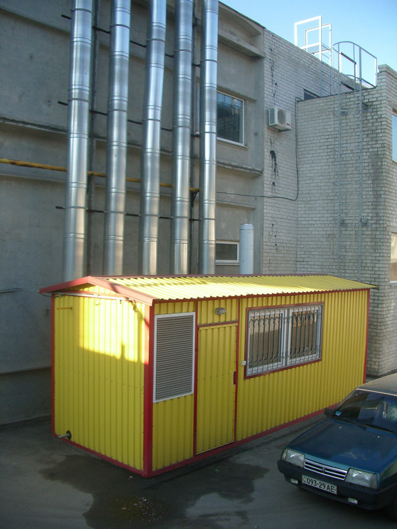 Газовая транспортабельная котельная 960 кВт. КМ-2-1000-Т/Гн ВПМ 192 г. Запорожье завод Радиоэлектроники