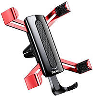 Автодержатель Baseus Spiderman Gravity Car Mount Red, фото 1