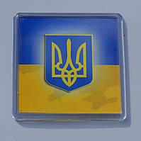"""Магнит  """"Тризуб на прапорі"""", купить магниты оптом, купити магніт з символікою., фото 1"""