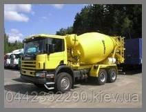 Продажа бетона, доставка бетона миксерами Киев
