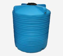 Пластиковая емкость вертикальная - V 1000 л.
