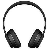 Навушники накладні з мікрофоном безпровідні Beats Solo 3 Wireless  Headphones Black 5b9806273a4a6