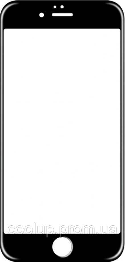 Защитное стекло TOTO 5D Full Cover Tempered Glass iPhone 6/6s Black