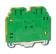 Клемма винтовая для заземления RSA PE 6 A желто-зеленая (A541231)
