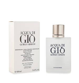 Туалетная вода мужская Giorgio Armani Acqua di Gio Men 100 ml ТЕСТЕР (Армани Аква Ди Джи), фото 2