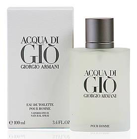 Туалетна вода чоловіча Giorgio Armani Acqua di Gio Men 100 ml ТЕСТЕР (Армані Аква Ді Джі)