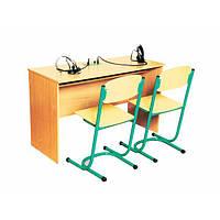 """Стол ученический для лингафонного кабинета, двухместный """"80371"""""""
