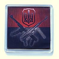 """Магнит  """"Тризуб УПА"""", купить магниты оптом, купити магніт з символікою., фото 1"""