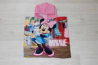 Детское пляжное пончо Disney Minnie mouse