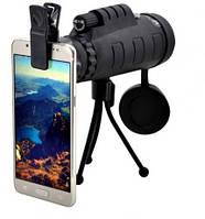 Монокуляр Panda 40x60 (штатив, клипса для смартфона и чехол), фото 1