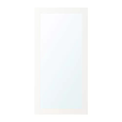 Зеркальная дверца IKEA RIDABU 60x120 см белая 703.310.92