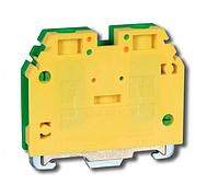 Клемма винтовая для заземления RSA PE 10 A желто-зеленая (A551231)