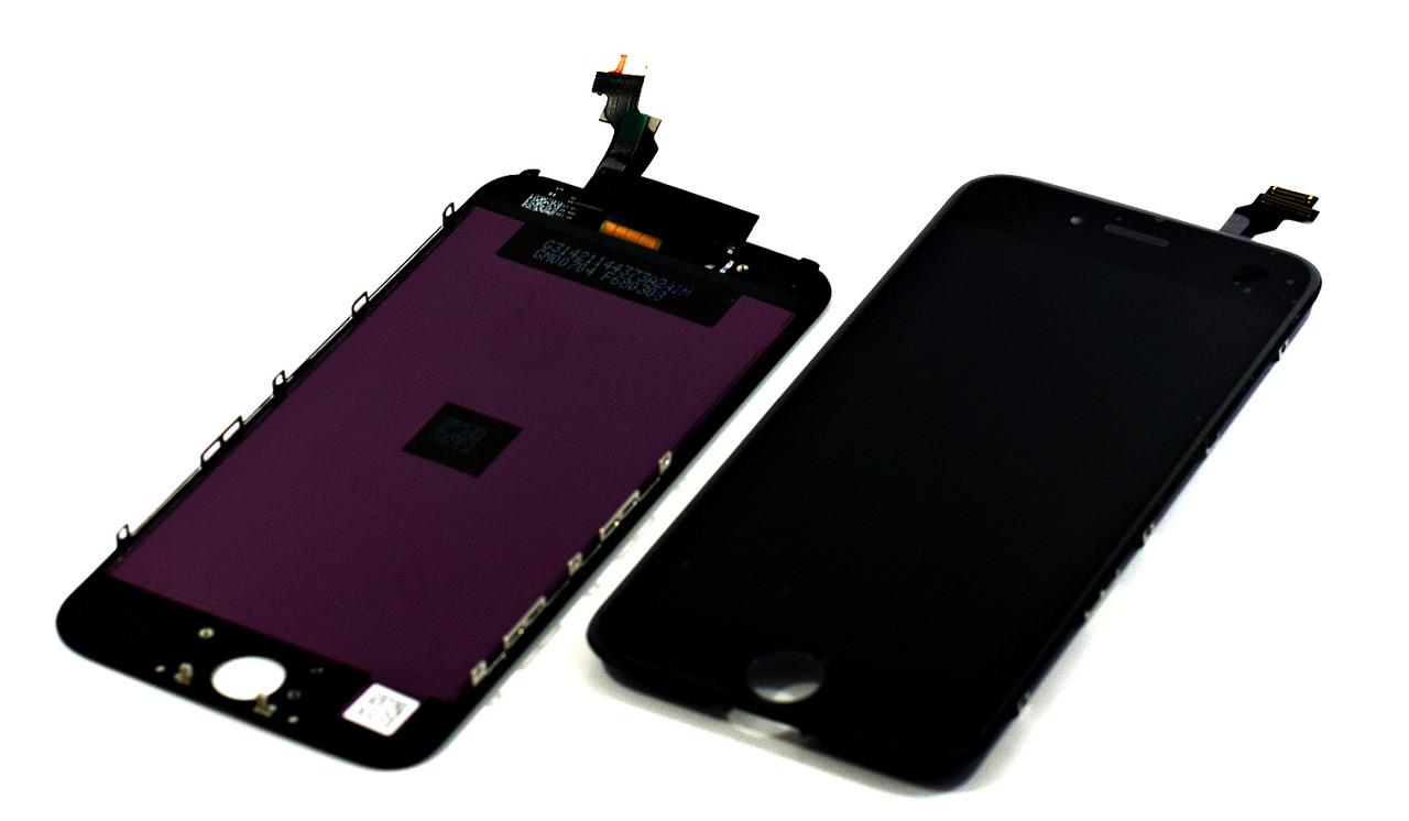 Модуль Apple iPhone 6 black (#543)