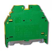 Клемма винтовая для заземления RSA PE 16 A желто-зеленая (A561116)
