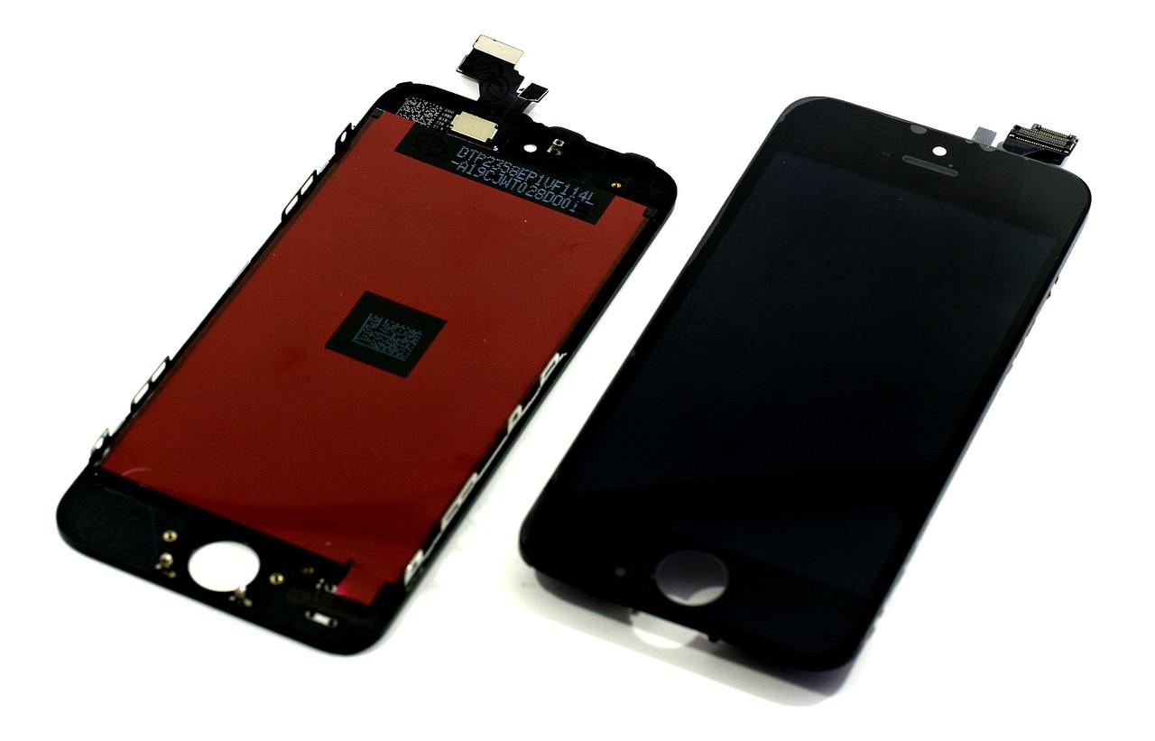 Модуль Apple iPhone 5 black (#541) .z