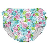 Трусики для плавания I Play -Light Aqua Paradise Flower, фото 1
