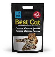 Силикагелевый наполнитель Best Cat White 15л