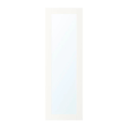 Зеркальная дверца IKEA RIDABU 40x120 см белая 903.310.91