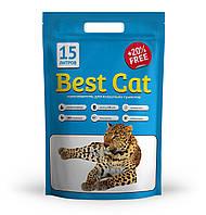 Силикагелевый наполнитель Best Cat Blue 15 л