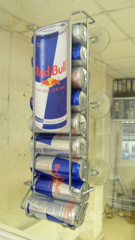 Дисплей гравитационный ⚠️ для жб банок Red Bull